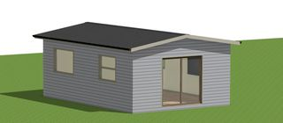 1Bdrm Sleepout 30sqm Gable Option 2